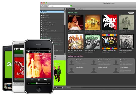 Spotify мультиплатформен