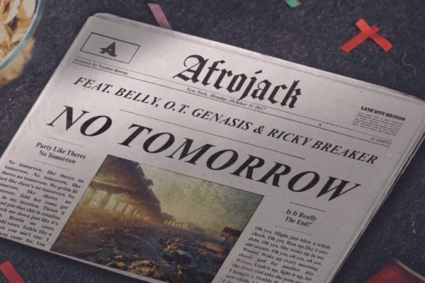 рингтон Afrojack - No Tomorrow (feat. Belly & O.T. Genasis & Ricky Breaker)