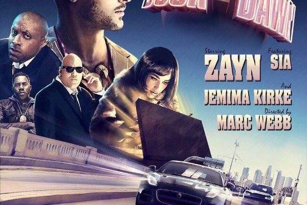 рингтон ZAYN feat. Sia - Dusk Till Dawn