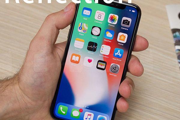 Новый стандартный рингтон iPhone X из iOS11 (Reflection Отражение)