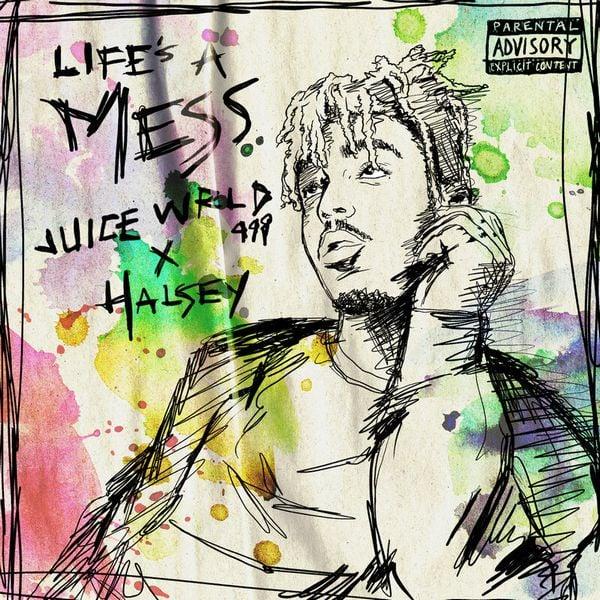 рингтон Juice WRLD & Halsey - Life's A Mess